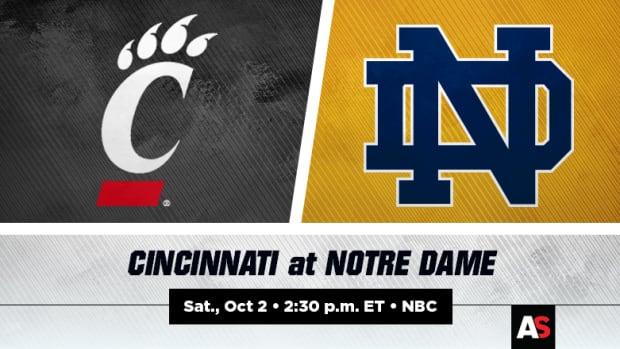 Cincinnati Bearcats vs. Notre Dame Fighting Irish Football Prediction and Preview