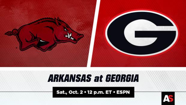 Arkansas Razorbacks vs. Georgia Bulldogs Football Prediction and Preview