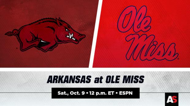 Arkansas Razorbacks vs. Ole Miss Rebels Football Prediction and Preview