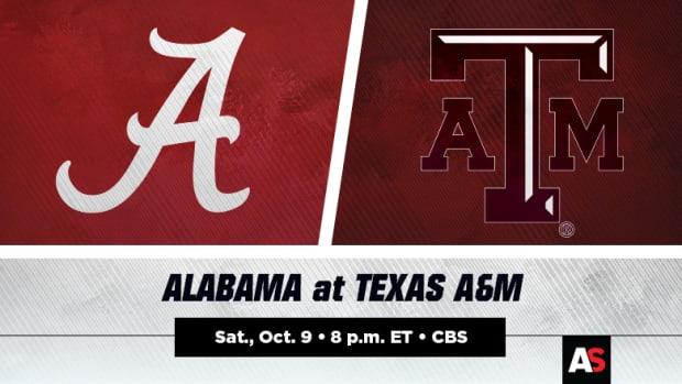 Alabama Crimson Tide vs. Texas A&M Aggies Football Prediction and Preview