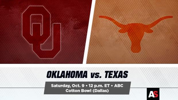 Oklahoma Sooners vs. Texas Longhorns Football Prediction and Preview