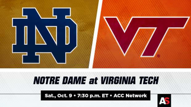 Notre Dame Fighting Irish vs. Virginia Tech Hokies