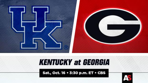 Kentucky Wildcats vs. Georgia Bulldogs Football Prediction and Preview
