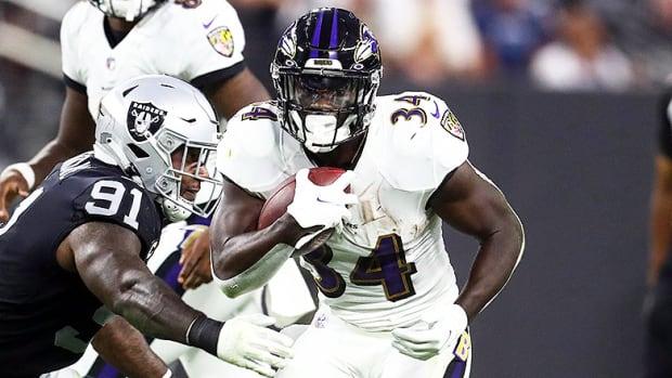 Ty'Son Williams, Baltimore Ravens