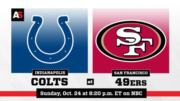 Sunday Night Football: Indianapolis Colts vs. San Francisco 49ers Prediction and Preview