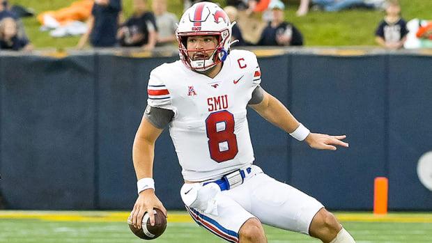 Tanner Mordecai, SMU Mustangs Football
