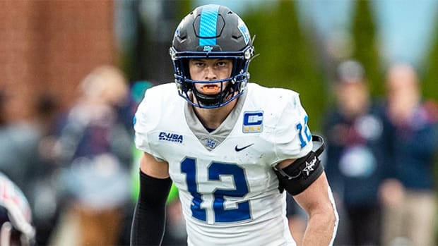 Reed Blankenship, Middle Tennessee Blue Raiders Football