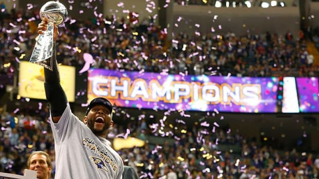 Ray Lewis Super Bowl XLVII