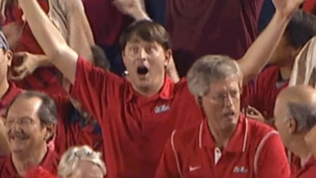 Awkward Celebrating Fans of the Day: These Ole Miss Fans