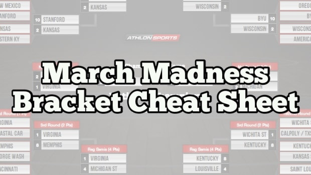NCAA Tournament 2014: March Madness Bracket Cheat Sheets