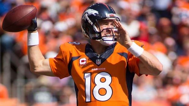 Peyton Manning moved to the top of the list in all-time TD passes