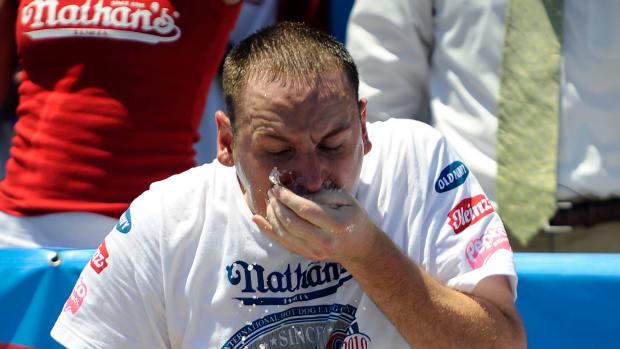 Nathan's Hot Dog Eating Champ Joey Chestnut