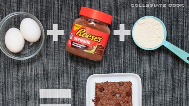 3-Ingredient Peanut Butter Brownies recipe
