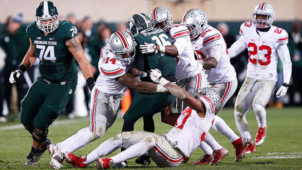 Top 5 Michigan State vs. Ohio State College Football Games of All Time