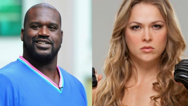 Shaq Says He Could Take on Ronda Rousey
