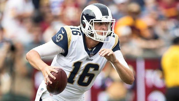 Jared Goff Los Angeles Rams