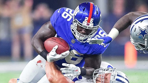 DraftKings and FanDuel Best Lineups for Week 10: Orleans Darkwa