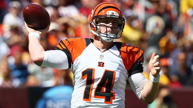 DraftKings and FanDuel Best Lineups for Week 8: Andy Dalton