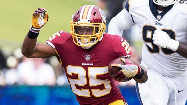 DraftKings and FanDuel Best Lineups for Week 5 NFL Daily Fantasy Football: Chris Thompson