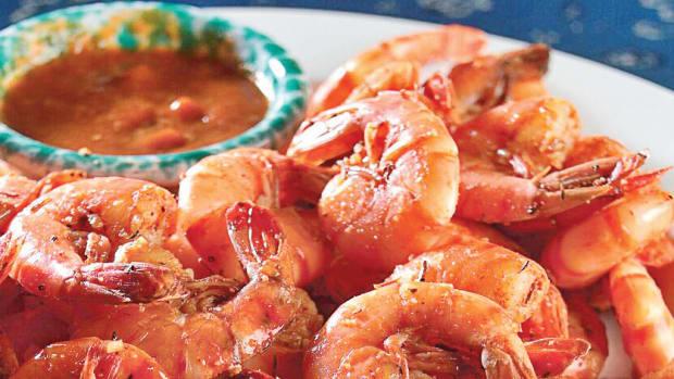 Drunken Spicy Shrimp