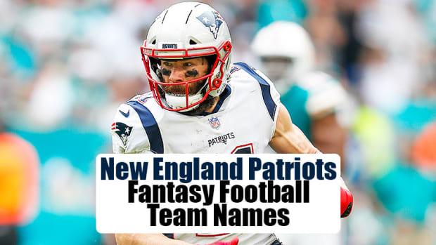 New England Patriots Fantasy Football Team Names