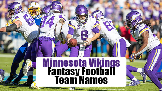 Minnesota Vikings Fantasy Football Team Names