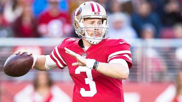 San Francisco 49ers QB C.J. Beathard