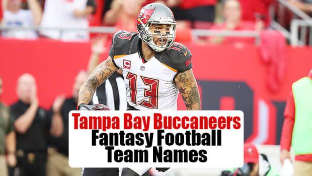 Tampa Bay Buccaneers Fantasy Football Team Names