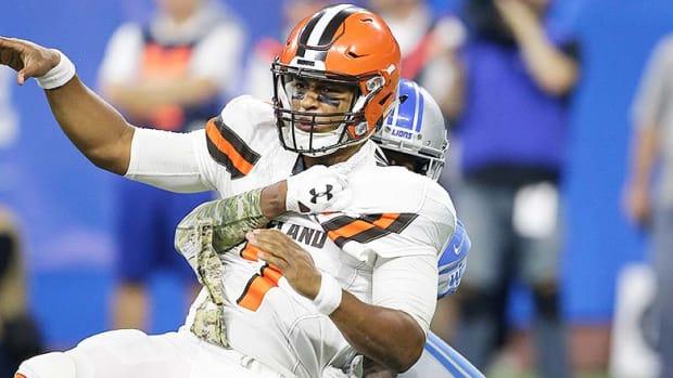 10 Absolute Worst NFL Teams Since Expansion - DeShone Kizer, 2017 Cleveland Browns