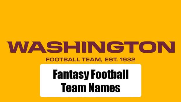 Washington Fantasy Football Team Names (2020)