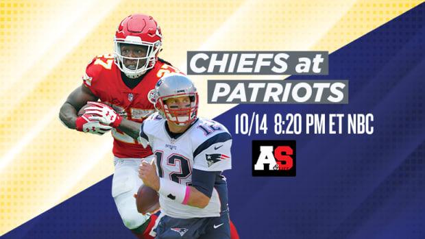 Sunday Night Football: Kansas City Chiefs vs. New England Patriots Prediction and Preview