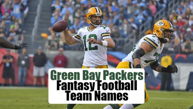 Green Bay Packers Fantasy Football Team Names
