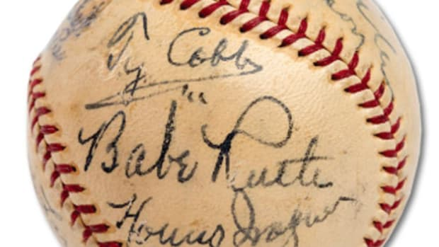 most valuable autographed baseball