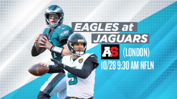 NFL London Games: Philadelphia Eagles vs. Jacksonville Jaguars Prediction and Preview