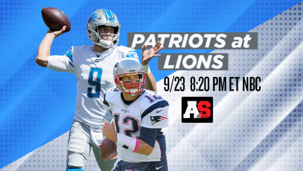 Sunday Night Football: New England Patriots vs. Detroit Lions Prediction and Preview