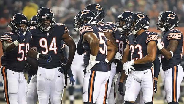 Chicago Bears 2018 Midseason Report Card