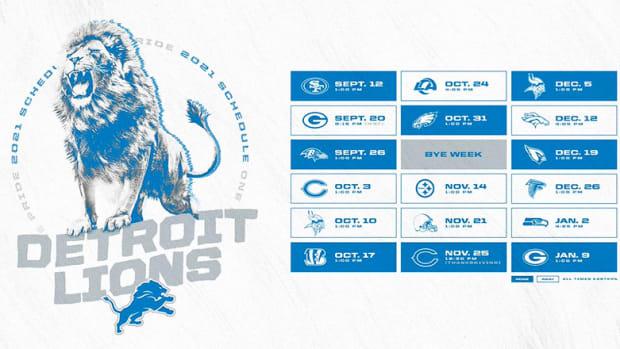 Detroit Lions Schedule 2021