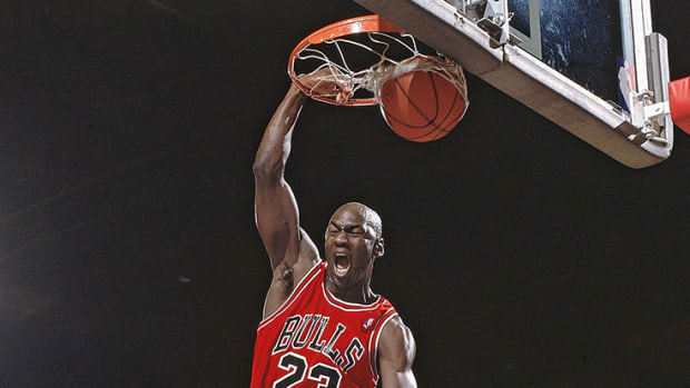 Why isn't Michael Jordan on the old NBA Jam arcade game?