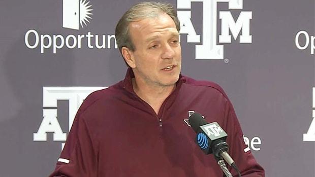 College football coach Jimbo Fischer