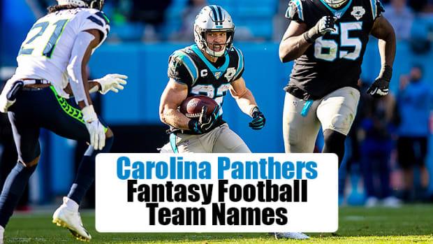 Carolina Panthers Fantasy Football Team Names