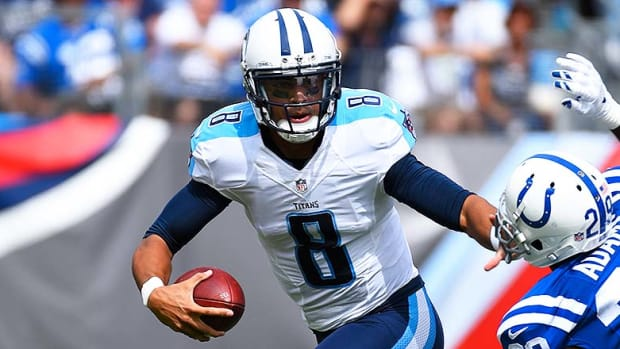 DraftKings and FanDuel Best Lineups for Week 15: Marcus Mariota