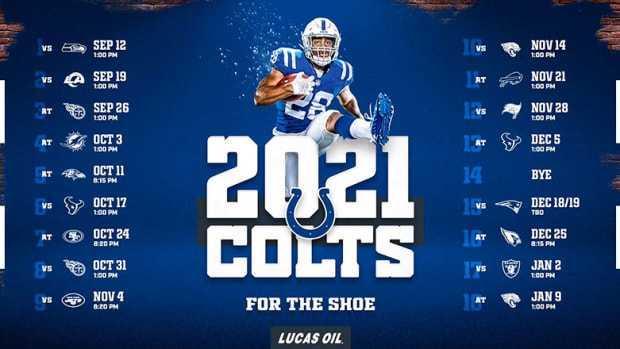 Indianapolis Colts Schedule 2021