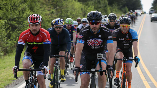 Jimmie Johnson Brings Cycling Craze to NASCAR