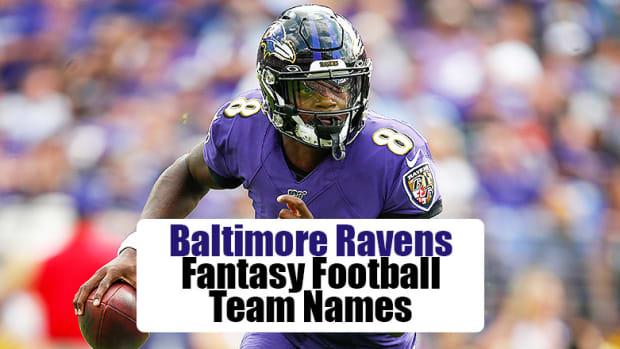 Baltimore Ravens Fantasy Football Team Names