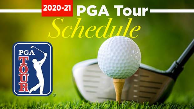 2020-21 PGA Tour Schedule