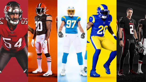 Grading the NFL's New Uniforms for the 2020 Season