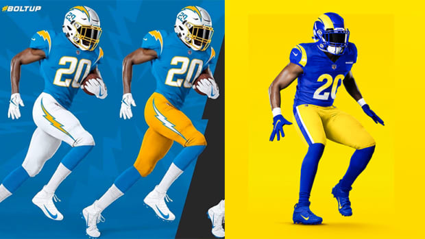 Chargers or Rams: Which NFL Team That Calls Los Angeles Home Has the Better New Uniform?