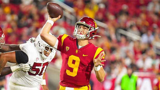 USC Football: Kedon Slovis Puts on a Show for the Trojans