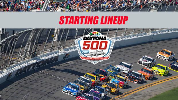NASCAR Starting Lineup for the Daytona 500