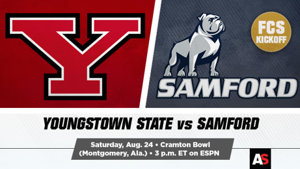 Youngstown State Penguins vs. Samford Bulldogs Prediction